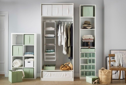 10 Wardrobe Organising Tips