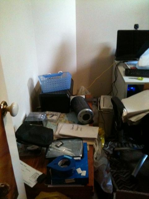 office declutter before
