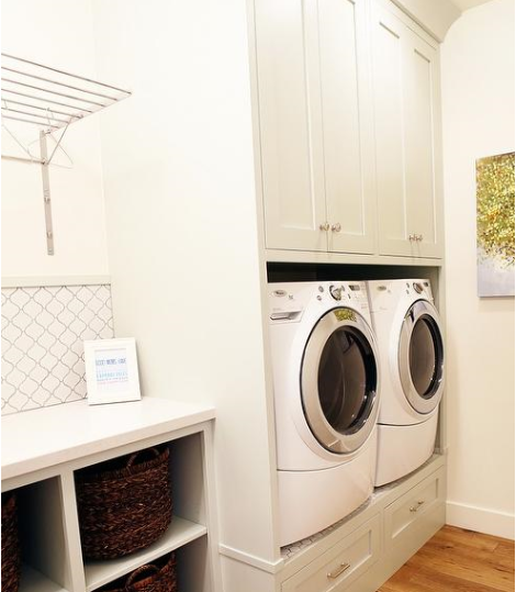 Drying racks in your laundry