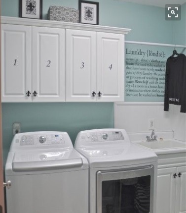 Organise my laundry with cupboards