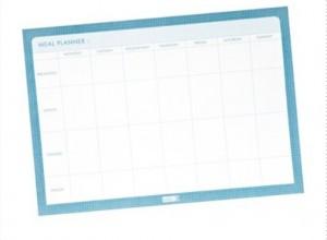Menu Planner & Time Organising Tips