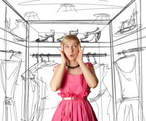 Time to declutter your wardrob