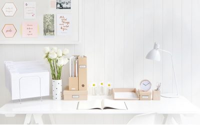 Gorgeous home office storage ideas
