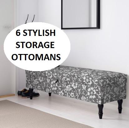 Ikea Storage Ottoman